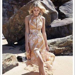 Dresses & Skirts - NEW Yellow Endless Summer Boho Floral Maxi Dress